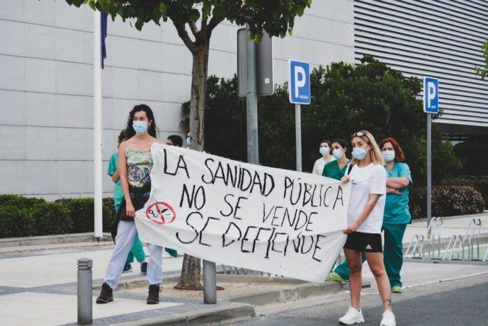 """""""Sanitarios Necesarios"""" de Majadahonda prescinde de partidos y sindicatos y pide acabar """"con el enchufismo y los abusos"""""""