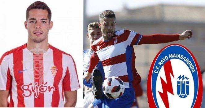 """Rubén Sánchez, delantero centro del Recreativo Granada, nuevo """"fichaje"""" del Rayo Majadahonda"""