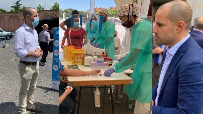 """El Ayuntamiento de Majadahonda se debate entre hacer """"test"""" a toda la población o no: """"lo estamos estudiando"""""""