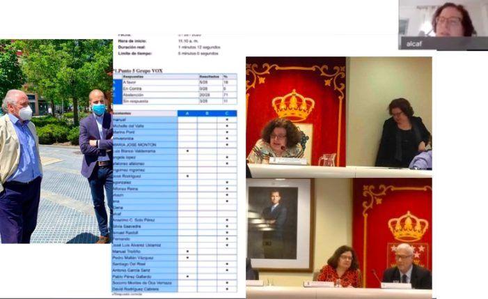 """""""No se puede votar 2 veces"""": irregularidades en el pleno del Ayuntamiento de Majadahonda evidencian su fracaso tecnológico"""