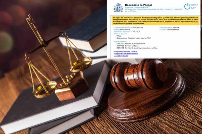14 bufetes de abogados se presentan al concurso municipal de Majadahonda para paralizar la licencia de AEDAS