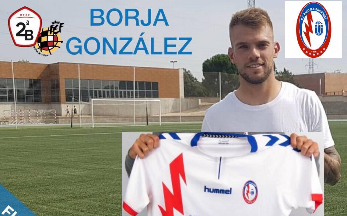 Rayo Majadahonda le arrebata a Borja González a Las Rozas CF