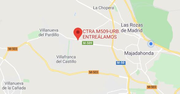 """""""Los vecinos de Entreálamos (Majadahonda) quedan aislados por bus los fines de semana"""""""