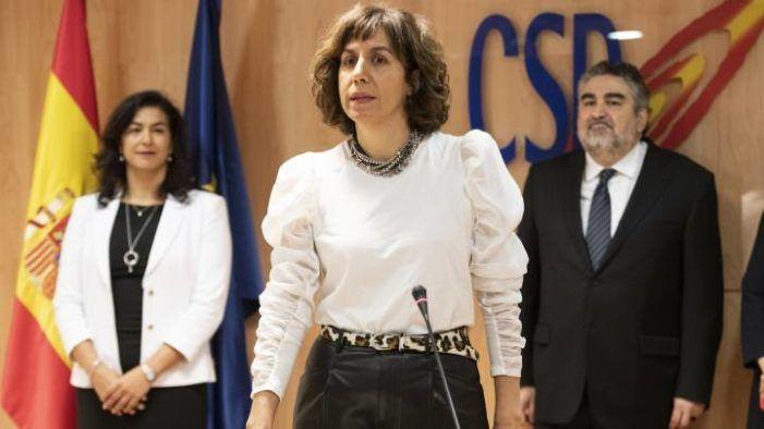 "Irene Lozano, presidenta del CSD: ""Soy del Rayo Majadahonda y mi hijo del Atleti"""