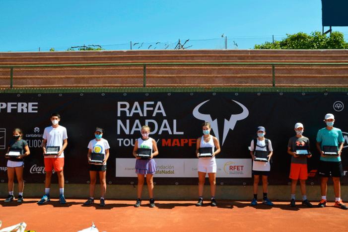 Protagonistas Deporte Majadahonda: Monarri (Automovilismo), Rafa Nadal Tour (CIT), Lafarga (Patinaje), Richi Dávila (Baloncesto)