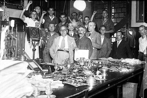 """""""Si la República hubiera ganado la guerra, el Comité de Majadahonda no sé si se habría librado del paredón"""" (VI)"""