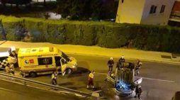 """Dos accidentes de tráfico en Majadahonda y la ministra que justifica """"llegar sola y borracha a casa"""""""