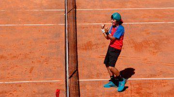El tenista de 11 años Fermín Barcala (CET Majadahonda), campeón de la Comunidad de Madrid tras su premio por la ACDM