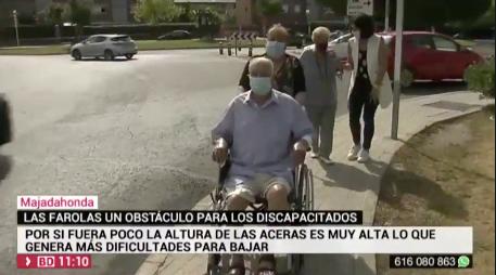 """Toño (91 años) y María, la pareja de Majadahonda que se hace """"famosa"""" por su denuncia en Telemadrid"""