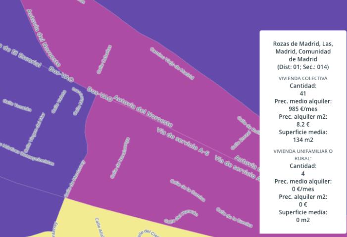 Ranking de alquiler en la Zona Oeste de Madrid: Aravaca, Pozuelo, Las Rozas y Majadahonda, las más caras