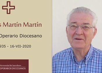 Fallece en Majadahonda a los 85 años el profesor de Filosofía y sacerdote Jesús Martín