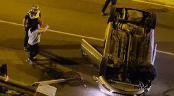 """La testigo del accidente de Majadahonda: """"la conductora estaba borracha, dio 0.7 de alcotest"""""""
