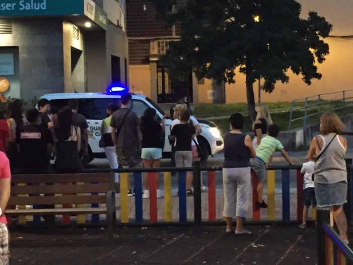 """Un joven delincuente y una menor de Majadahonda detenidos por """"atentado"""" a la Guardia Civil"""