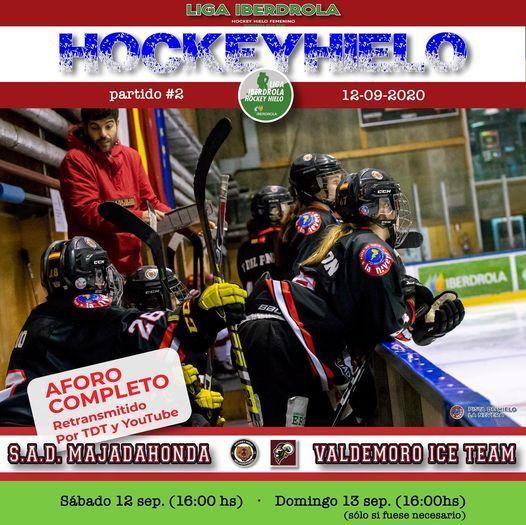Hockey Hielo: SAD Majadahonda juega la final de liga contra Valdemoro
