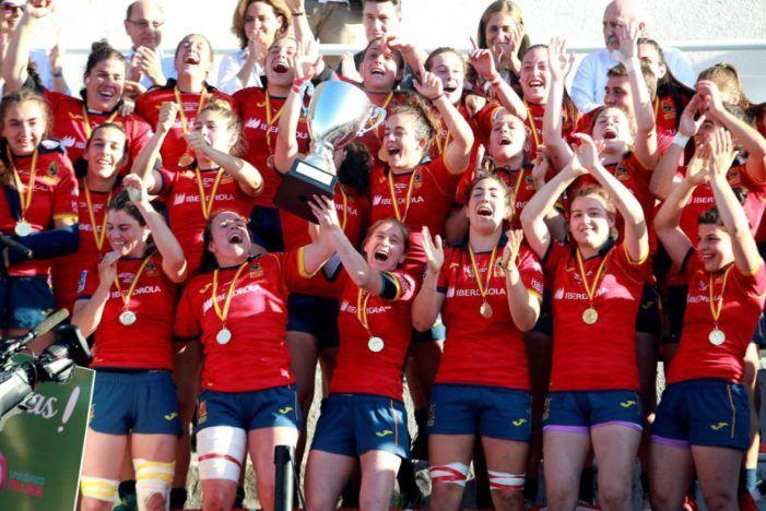 Rugby: 4 jugadoras del CR Majadahonda y 1 del Olímpico Pozuelo, en la selección española