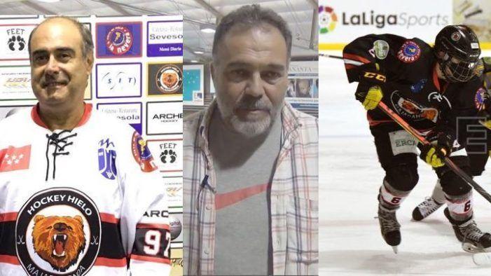 """Gordovil (Hockey Hielo Majadahonda): """"En fútbol se produce contacto y no hay mascarilla"""""""