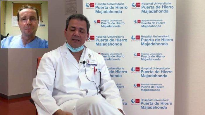"""Dr. Ballesteros (Puerta de Hierro Majadahonda): """"Los sanitarios están agotados"""""""