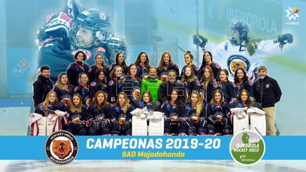 Hockey Hielo: SAD Majadahonda campeona 2019/20 tras golear al Valdemoro (6-1)