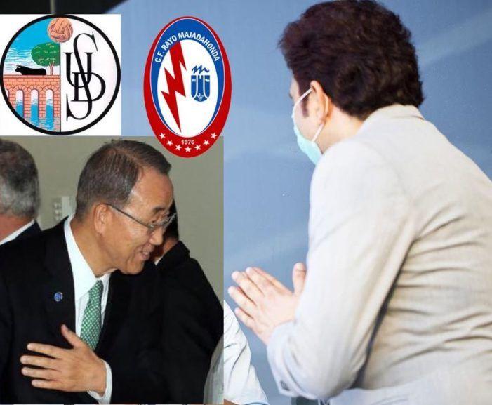"""Salamanca-Rayo Majadahonda: ordenan a los socios saludarse """"con la mano en el pecho e inclinándose"""""""