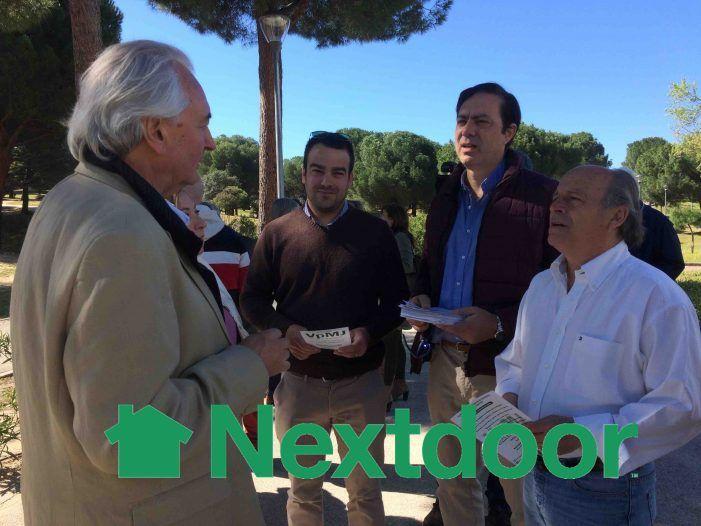 """Carlos Bonet, """"Vecino del Año 2020"""" más votado en Majadahonda por la red social Nextdoor"""