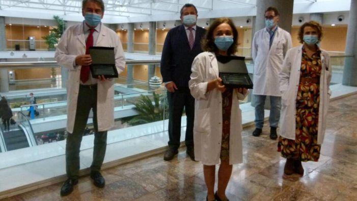 Premio al Hospital Puerta de Hierro Majadahonda por ser el 4º que más sanitarios vacuna de gripe