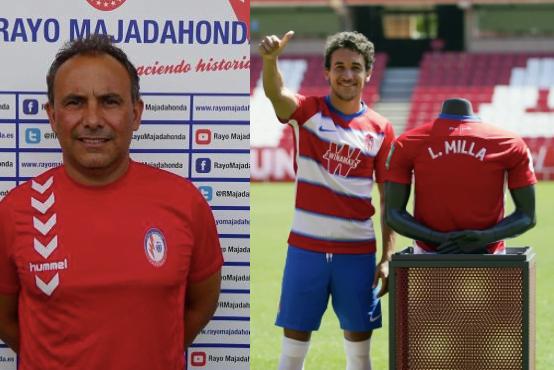 Luis Milla dedica a Pedro Calvo, ex entrenador del Rayo Majadahonda, su debut en la Europa League