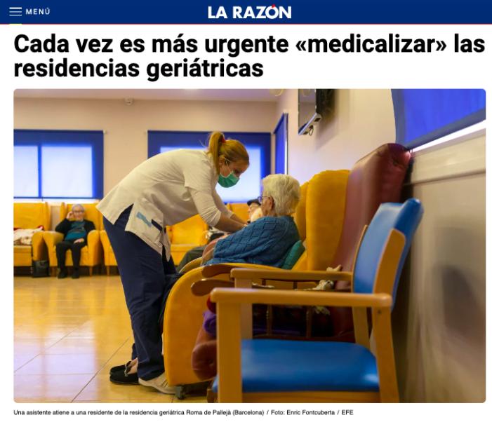 """El ex consejero de Sanidad del PP considera """"cada vez más urgente"""" medicalizar las residencias geriátricas: Majadahonda"""