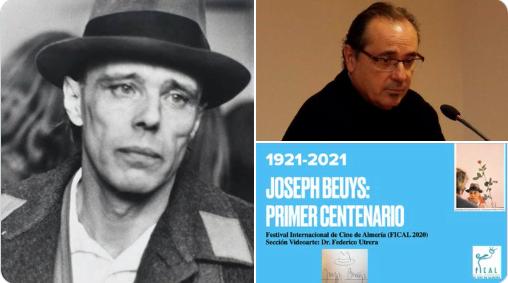 """El Festival Internacional de Cine de Almería (Fical 2020) desvela la sección de videoarte de Federico Utrera: """"Joseph Beuys, 1º centenario"""""""