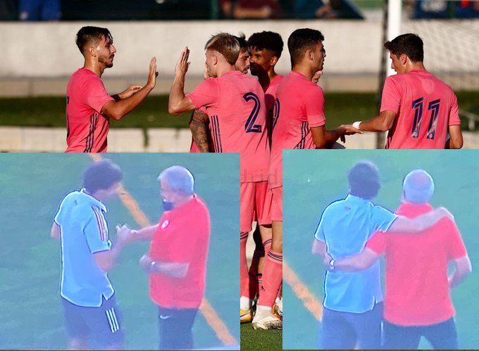 """Ducha de agua fría y lección de humildad de los """"niños"""" del Real Madrid-Castilla al potente Rayo Majadahonda"""