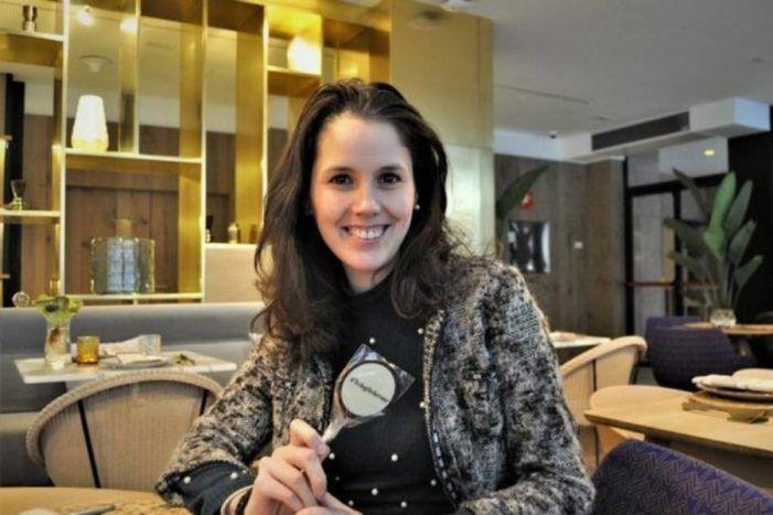 """La gastrónoma Clara Pérez Villalón elogia el """"Rollo de Bonito"""" del """"chef"""" Lucas Vega en """"El Toque"""" de Majadahonda"""