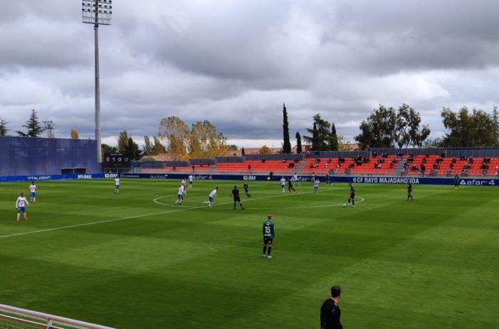 Rayo Majadahonda cuaja el mejor partido del 2020 y derrota al vigente campeón At. Baleares (2-0)