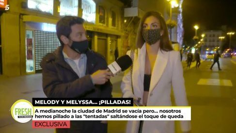 """Sonsoles Onega """"pilla"""" a todo el equipo de """"La isla de las tentaciones"""" saltándose el confinamiento en Majadahonda y Madrid"""