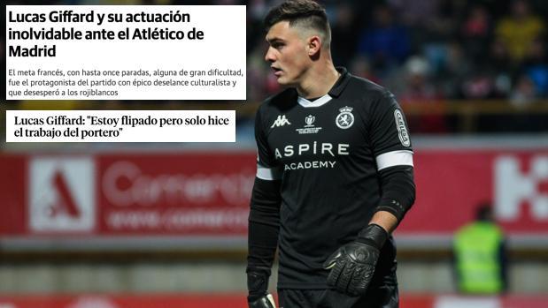 """Fichaje: Lucas Giffard """"el héroe de la Copa"""", nuevo portero del Rayo Majadahonda cedido por la Cultural Leonesa"""