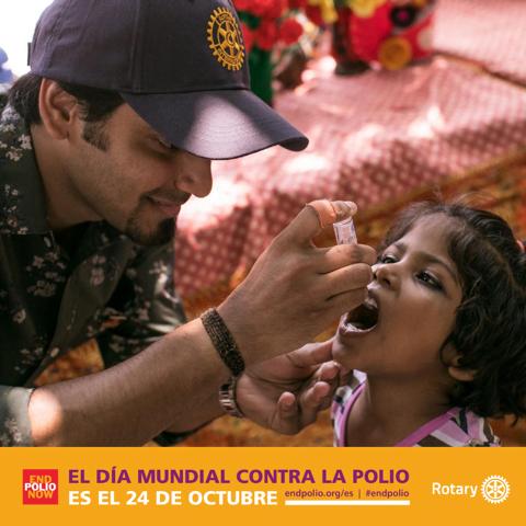 Rotarios Majadahonda en TV: historia y enseñanza de una vacuna en el Día Mundial contra la Polio