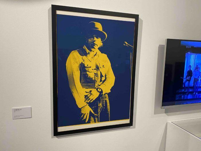 Joseph Beuys (1º Centenario): taller de videoarte en Almería y exposición en Madrid