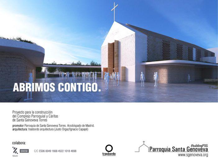 """Los arquitectos Justo Orgaz e Ignacio Capapé ganan el """"proyecto PSG"""" para edificar la nueva Iglesia de Roza Martín (Majadahonda)"""