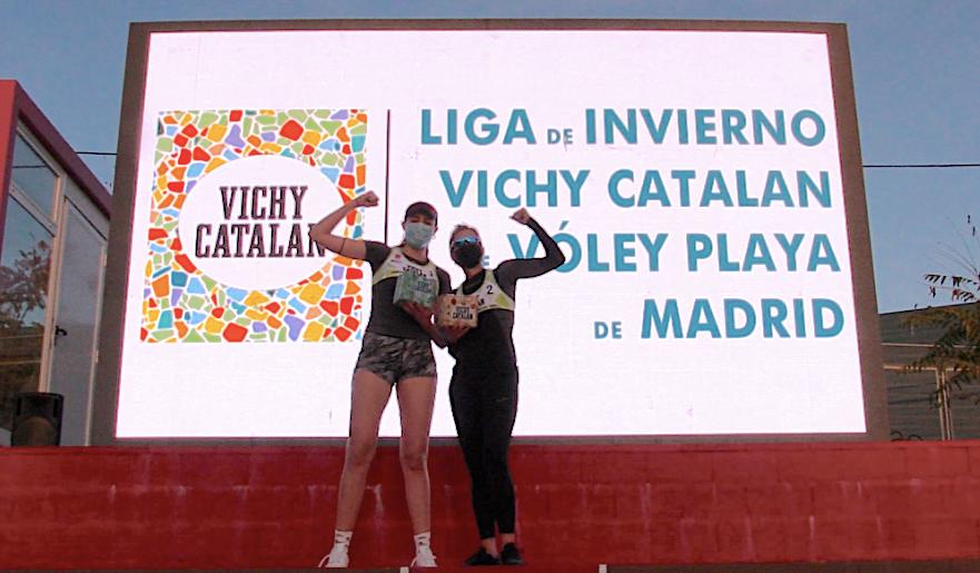 Voley Playa: Olga Matveeva y Ania Esarte (CV Majadahonda) se llevan la Liga de Invierno 2020