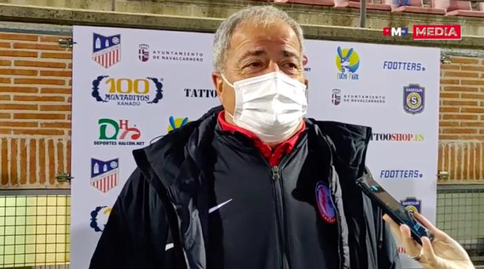 """Iriondo (Rayo Majadahonda) y el """"juego sucio"""" del Navalcarnero: """"Tengo un montón de jugadores golpeadísimos sin balón"""""""