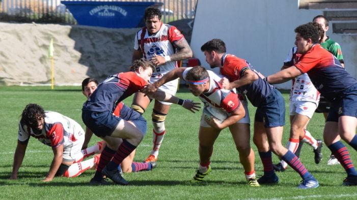 Rugby masculino: CR Majadahonda cae en Almería por 2 desafortunadas lesiones y dejando estela de gran equipo