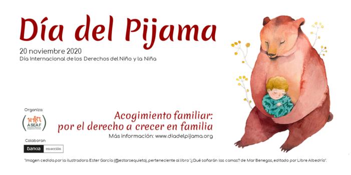 """""""Día del Pijama"""" en el Oeste de Madrid por la acogida de 21.000 niños españoles sin padres"""