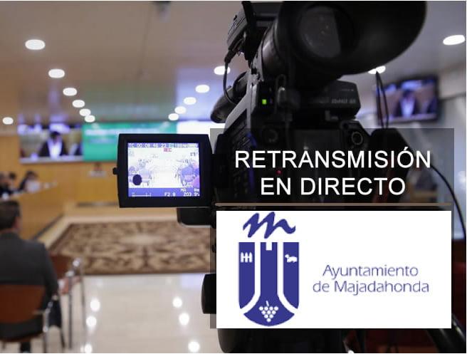 """La retransmisión telemática del pleno de Majadahonda vuelve a naufragar: PP-Vox aprueban sus mociones """"nacionales"""""""