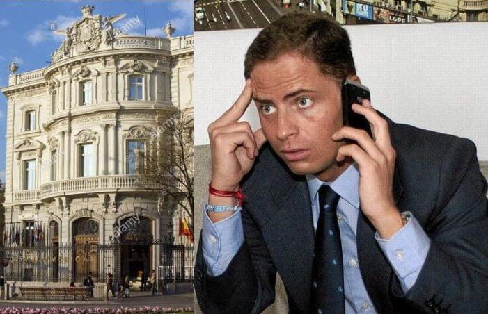 Borja Cabezón (Majadahonda) protagoniza la semana política nacional por la propuesta de Exteriores para dirigir la Casa de América (Madrid)