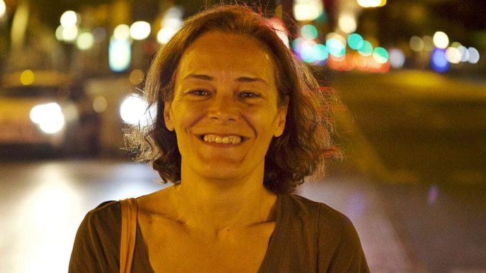 """La escritora Esther García Llovet, finalista con su libro """"Sánchez"""" sobre """"un pijo de Majadahonda aspirante a ser alguien"""""""