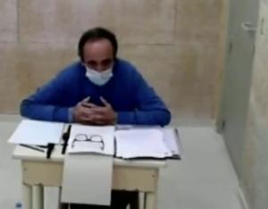 Guillermo Ortega comparece desde la cárcel