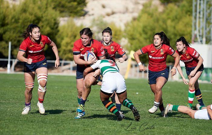 Rugby: jugadoras del Majadahonda protagonizan la abultada victoria en el regreso de España (59-0)