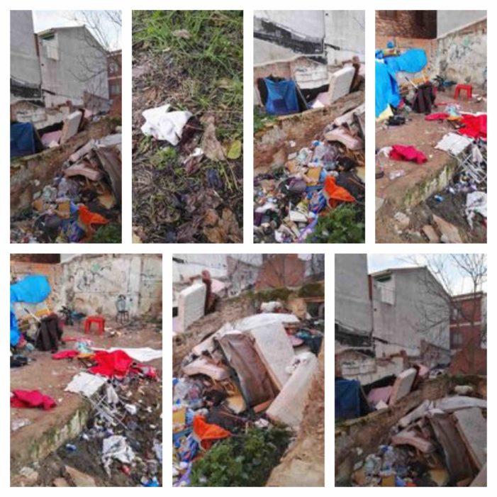No es Siria ni Libia sino Majadahonda (Madrid): las fotos del asentamiento de chabolas rumanas