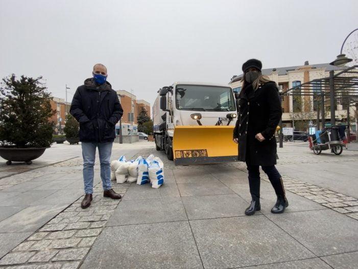 """""""El Ayuntamiento de Majadahonda está preparado para el temporal de frío y nieve previsto para estos días"""""""