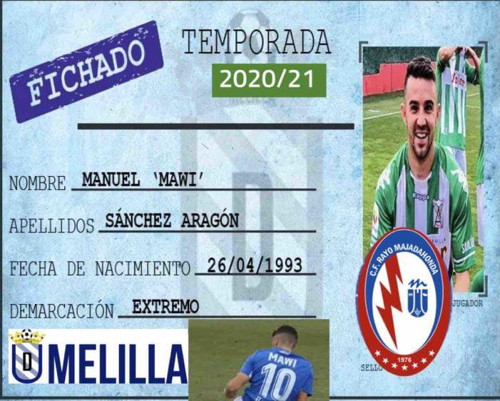 Rayo Majadahonda ficha a Mawi Sánchez (Melilla), el delantero que pedía Antonio Iriondo