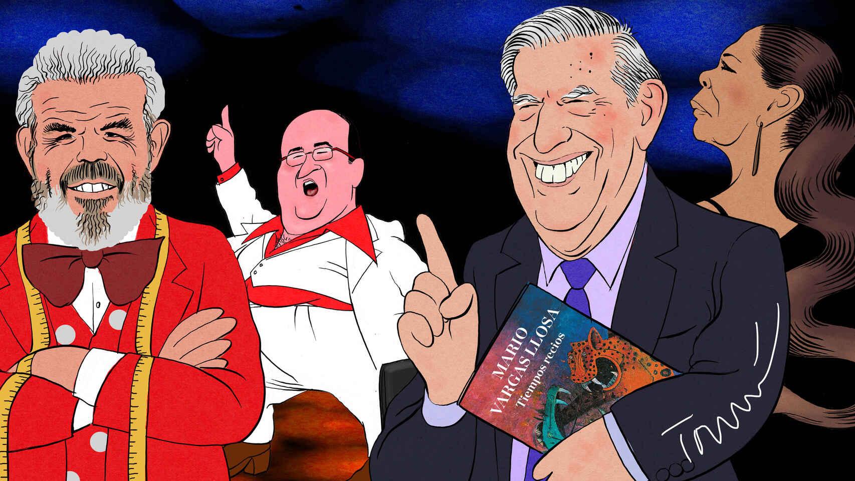 "Carmen Rigalt escribe sobre Vargas Llosa en Majadahonda: ""o das una conferencia o te la dan"""
