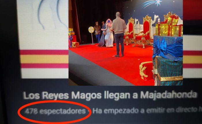 """Decepción por la desorganización de las cabalgatas de Reyes """"virtuales"""" del Oeste de Madrid"""